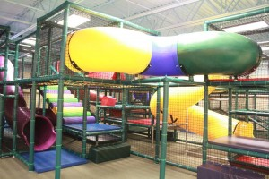 Indoor Huge Jungle Gym